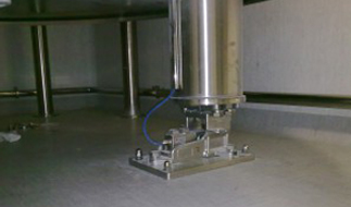 WEIGHING SYSTEM BASED ON SHEAR BEAM LOAD CELLS
