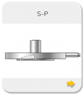 Flanged seals with flush diaphragm S-P