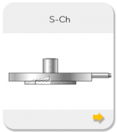 Chemical Flanged seals with flush diaphragm S-Ch